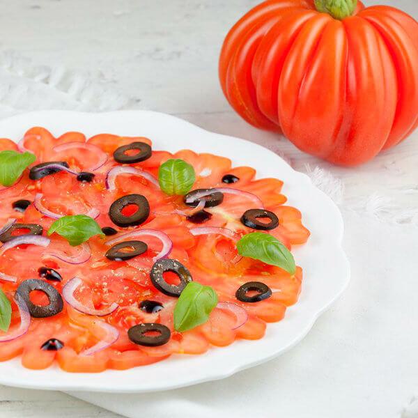 Карпаччо из бакинских томатов
