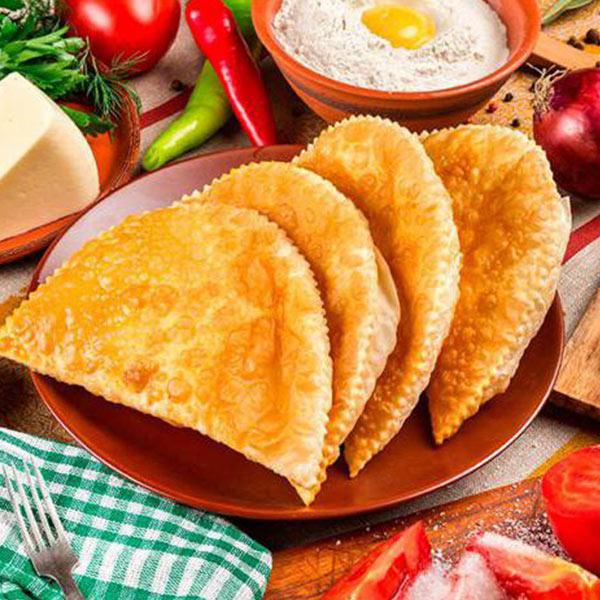 Настоящие крымские чебуреки, по секретному рецепту, с сочной начинкой из говядины