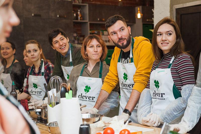 кулинарный мастер-класс Марко Праццоли