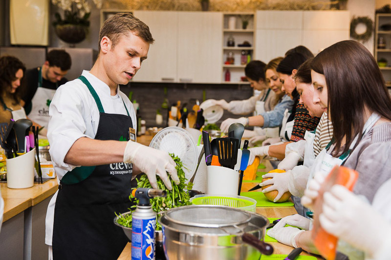 кулинарный мастер-класс Олег Кусов