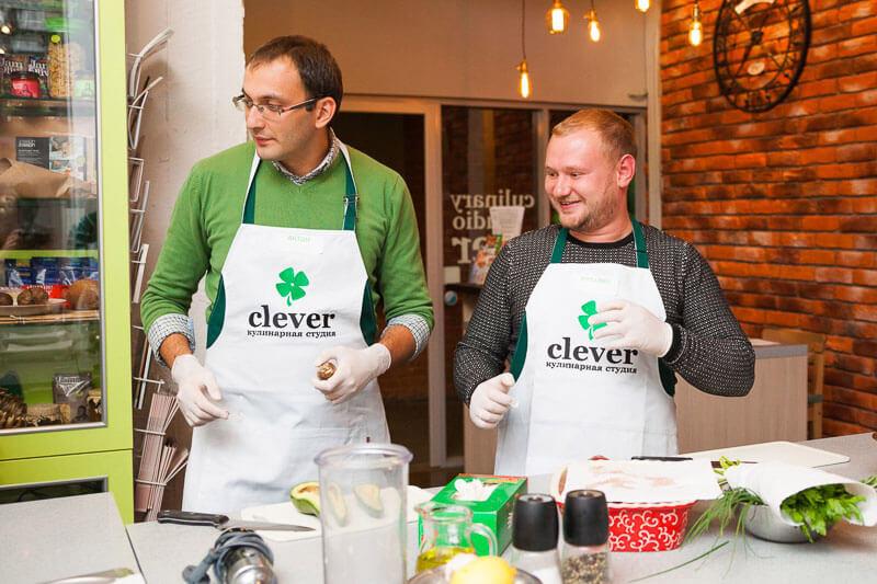 Кулинарный корпоратив компании «Ahlers»