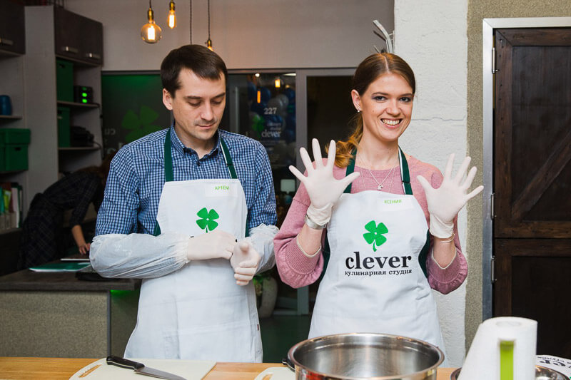 кулинарный мастер-класс шеф-повар Лена Ярцева
