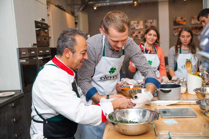 кулинарный мастер-класс от Маурицио Филистада