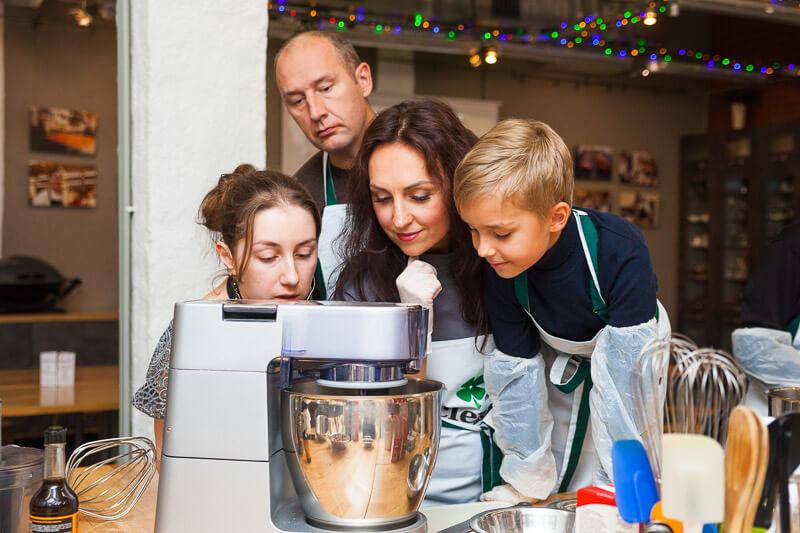 кулинарный мастер-класс Австро-венгерский ужин шеф-повар Мария Сорокина
