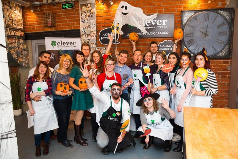 Halloween кулинарный мастер-класс Хэллоуин