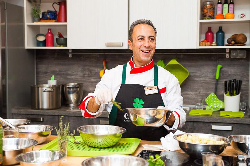 кулинарный мастер-класс «Итальянский вечер» с Маурицио Филистад