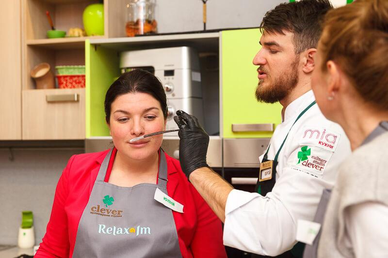 Кулинарный мастер-класс для «Relax FM»