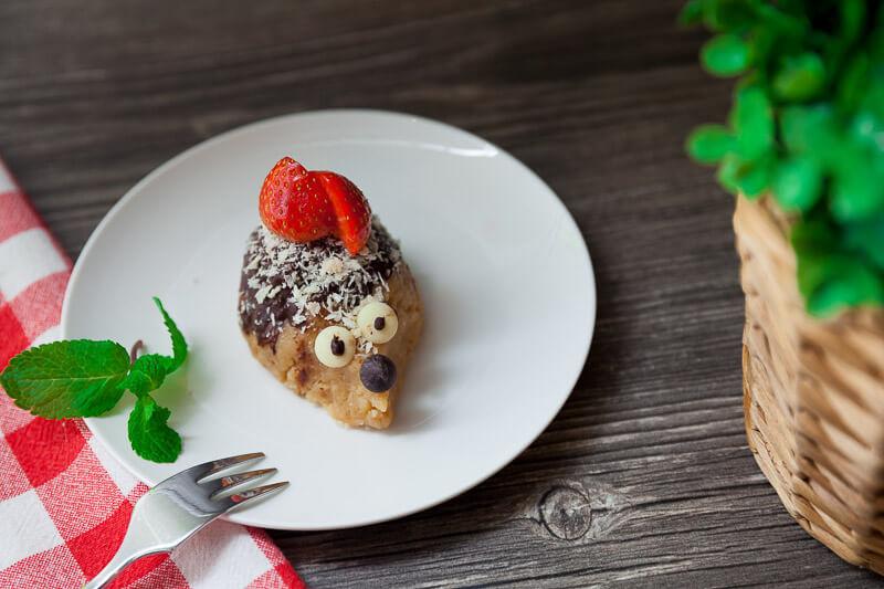 Домашнее шоколадное пирожное «Ежик-картошка»