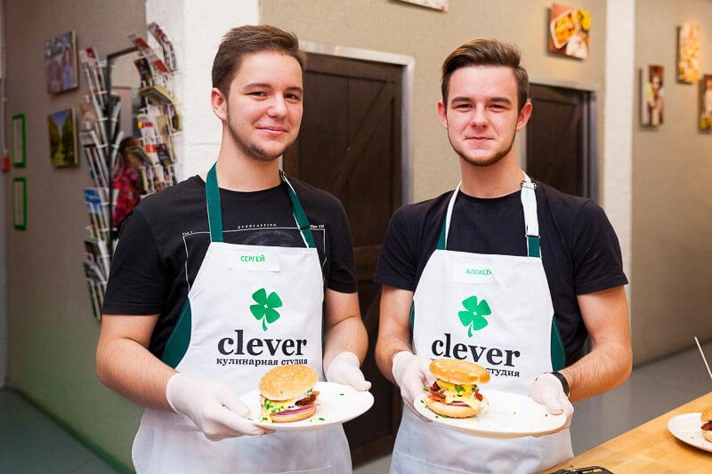 кулинарный мастер-класс в Студии Clever