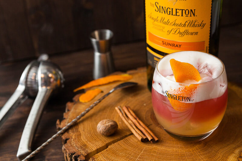 Виски сауэр The Singleton