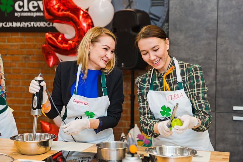 день рождения в кулинарной студии