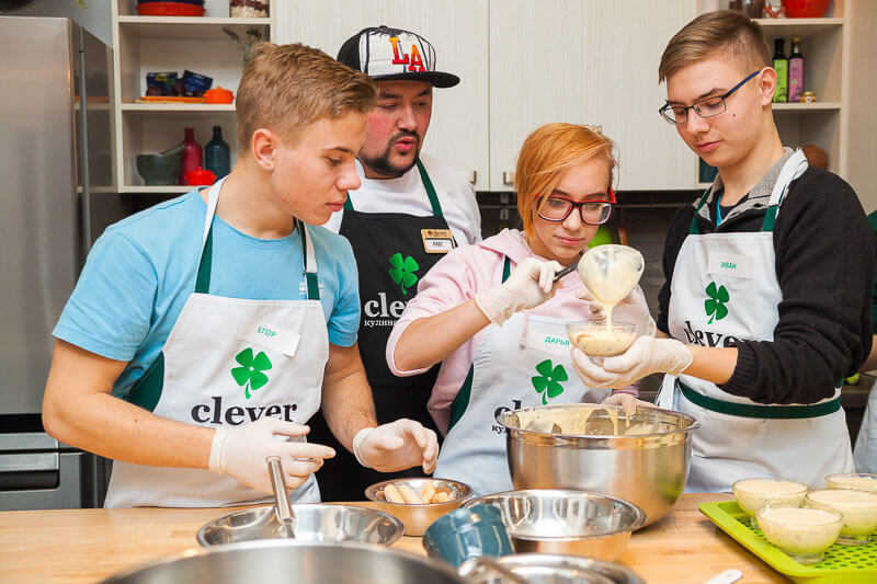 кулинарный мастер-класс на день рождения