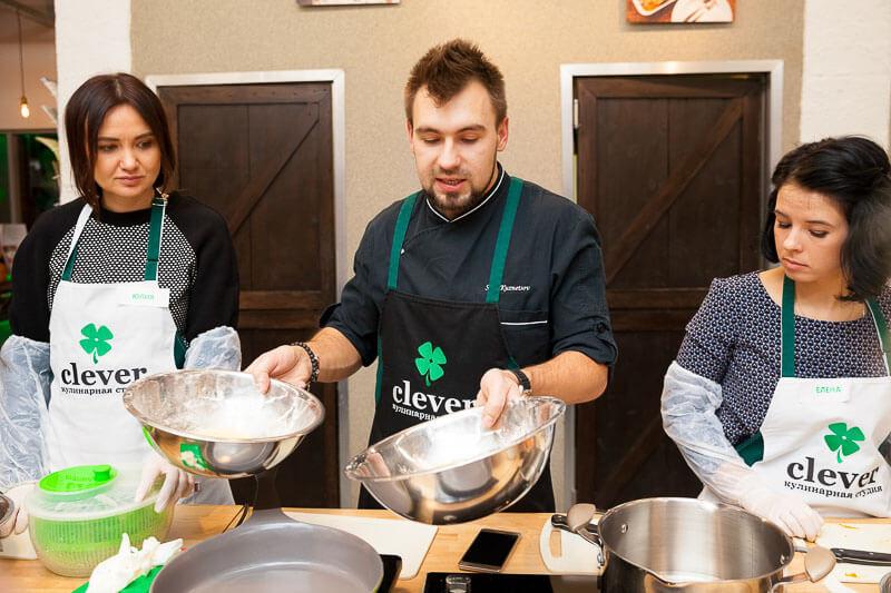паназиатская кухня мастер-класс