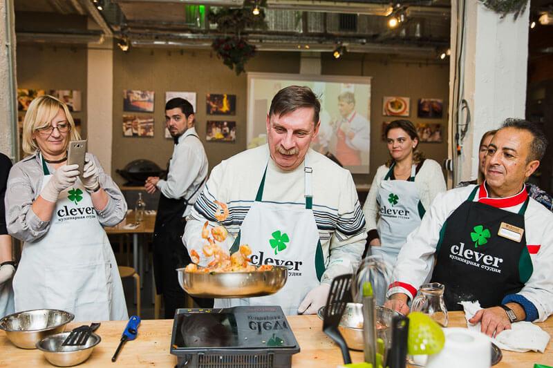 кулинарный мастер-класс Песня души с Маурицио Филистад