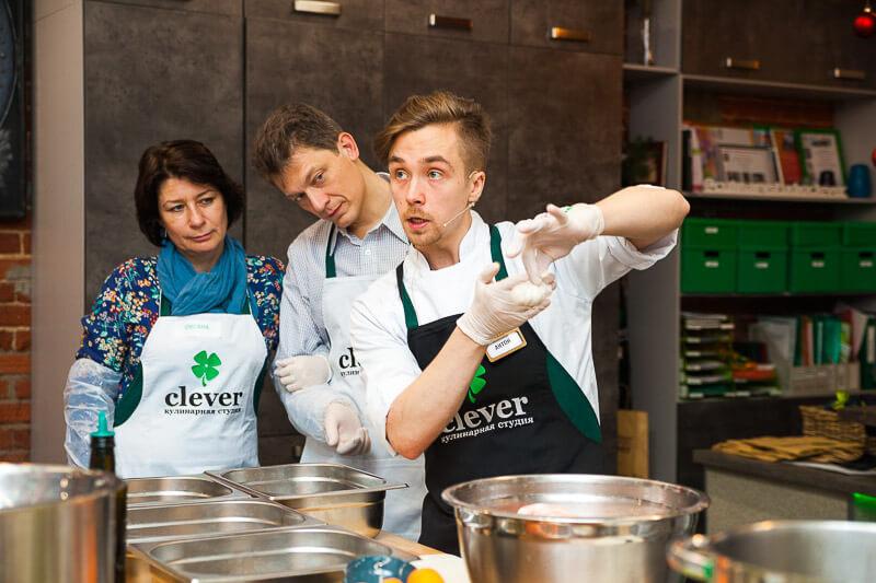 кулинарный мастер-класс «Рождественские каникулы»