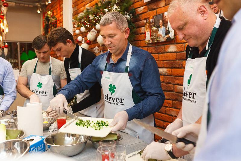 Кулинарный корпоратив «Busch Vacuum Russia»
