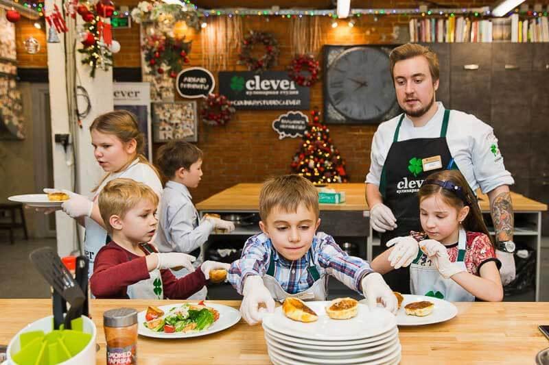 детский кулинарный мастер класс