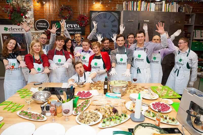 кулинарный мастер-класс на корпоратив