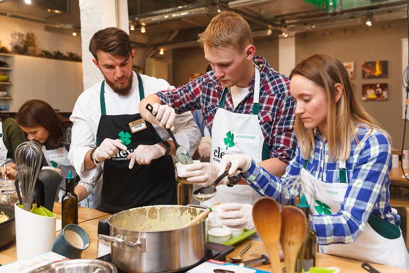 Кулинарный мастер класс Сергей Фадеев