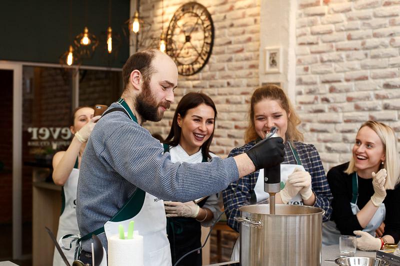 кулинарный мастер-класс шеф-повар Наталья Ермолаева