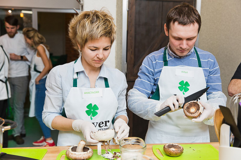 кулинарный мастер-класс шеф-повар Сергей Кузнецов