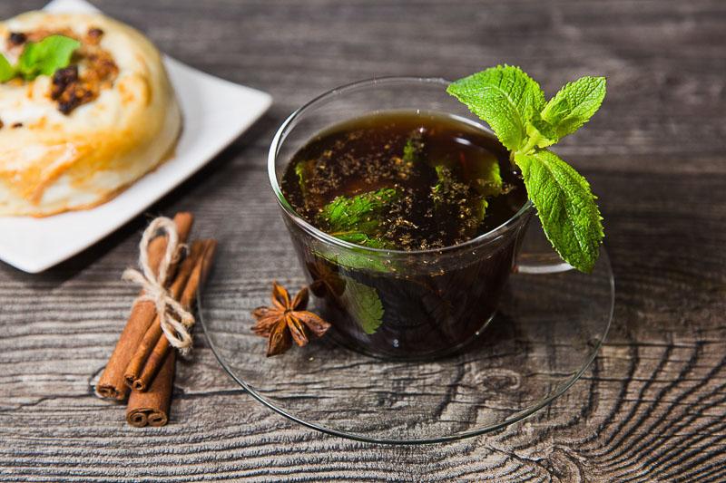 Камилика – ромашковый чай со специями, мятой и медом