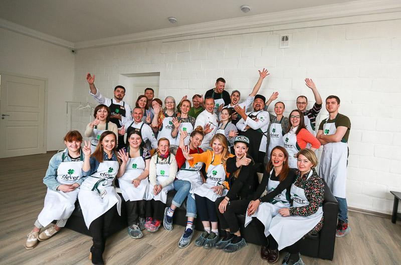 Кулинарная студия Clever провела кулинарный мастер-класс в городе Никель