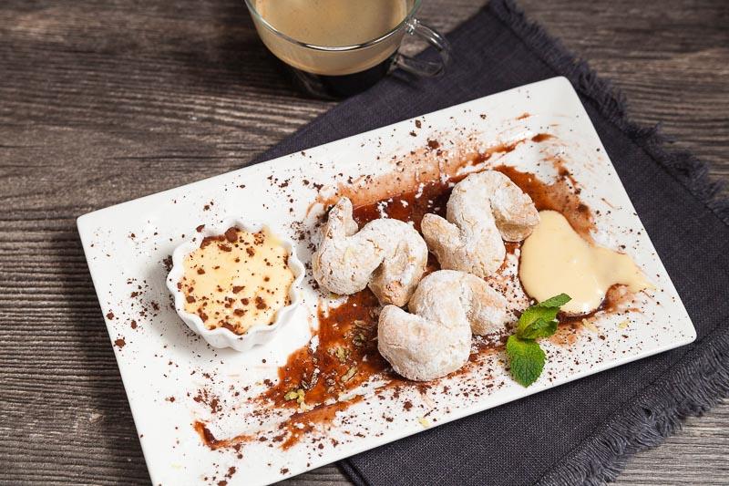 итальянский десерт шеф-повар Маурицио Филистад