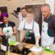 кулинарный мастер класс в студии Clever шеф-повар Олег Кусов