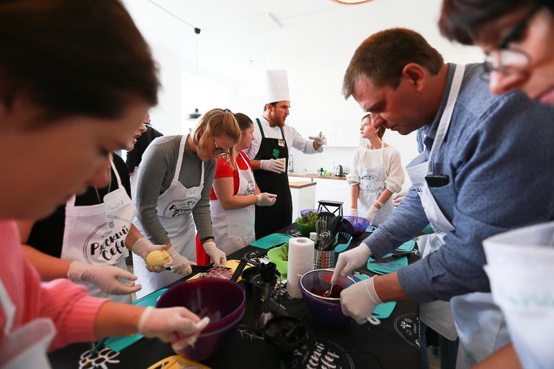 кулинарная студия Clever на фестивале северной кухни