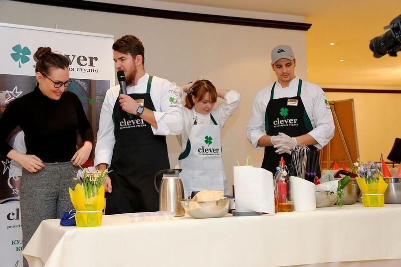 Кулинарная студия Clever на мероприятии «HR TECH FORUM 2018»