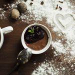 Венский шоколадный мусс с вишневым соусом