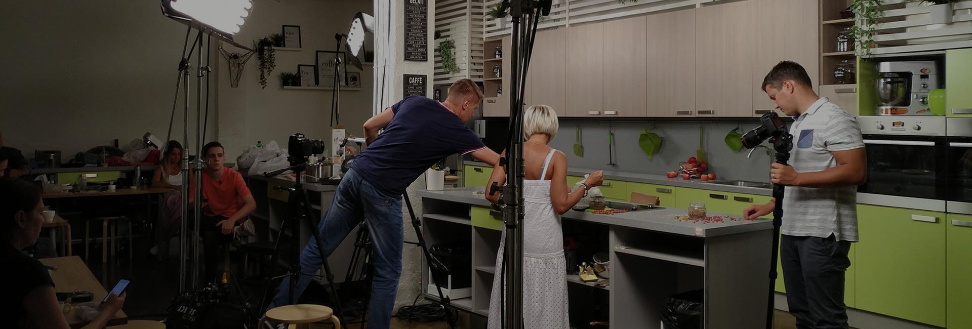 аренда кулинарной лофт студии для съемок