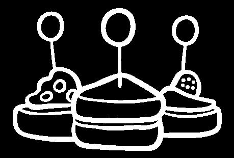канапе иллюстрация