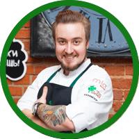 шеф-повар Олег Рыбаков
