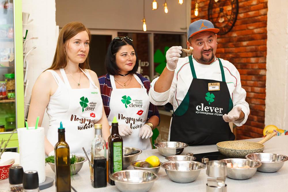 кулинарный мастер-класс девичник