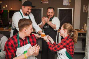 кулинарный мастер-класс на день рождения от студии Clever