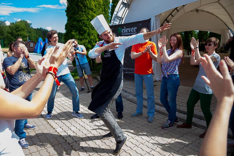 выездной кулинарный мастер-класс от студии Clever
